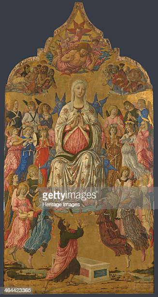 The Assumption of the Virgin 1474 Found in the collection of the National Gallery London