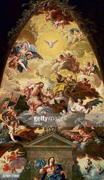 The Assumption of the Virgin ca 1760 by Francisco Bayeu y Subias
