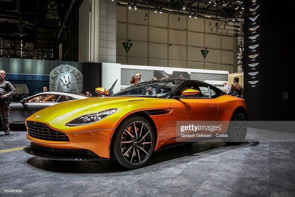 86th Geneva International Motorshow at Palexpo in Switzerland, March 2, 2016 : News Photo