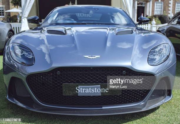 The Aston Martin DBS Superleggera on display at The London Concours event The Honourable Artillery Company host the two day luxurious automotive...