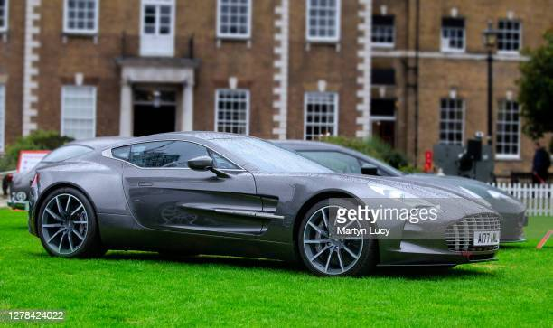 The Aston Martin One-77 seen at London Concours. Each year some of the rarest cars are displayed at the Honourable Artillery Company grounds in...