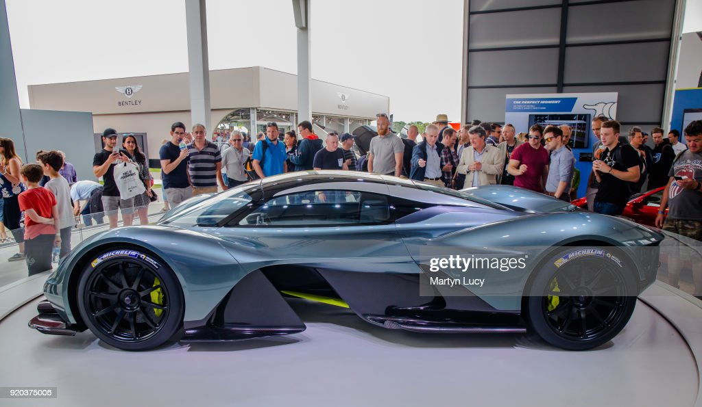 The Aston Martin Valkyrie Is Unveiled At Goodwood Festival Of Speed
