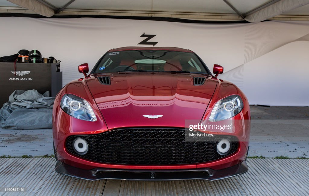 Aston Martin Vanquish Zagato Coupe : News Photo