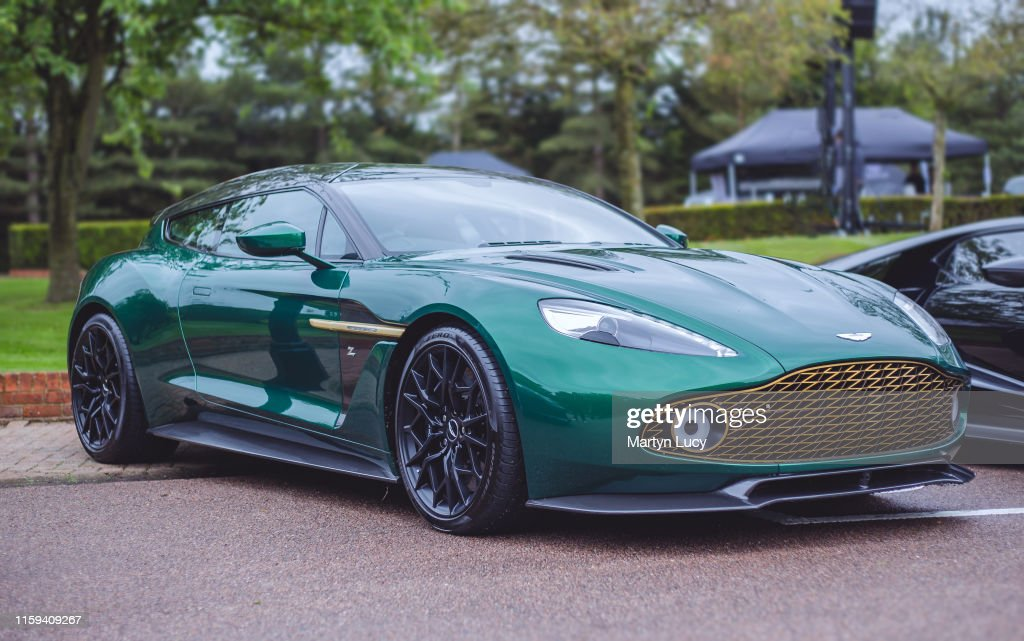 The Aston Martin Vanquish Zagato Shooting Brake This Car Was Part Of News Photo Getty Images