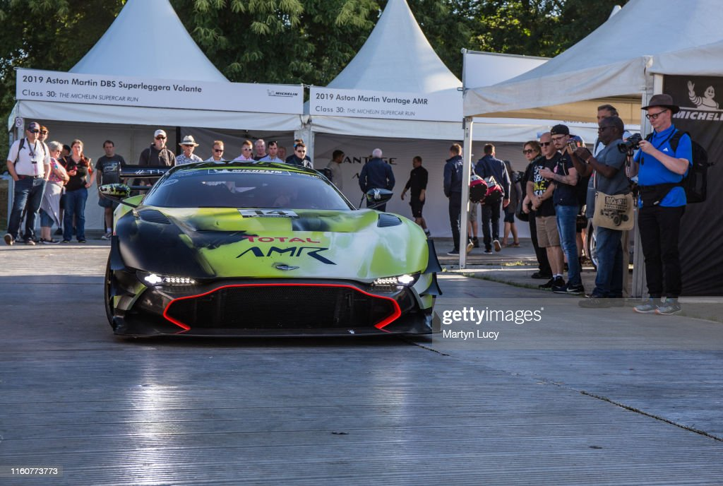 The Aston Martin Vulcan Amr Pro Seen At Goodwood Festival Of Speed News Photo Getty Images