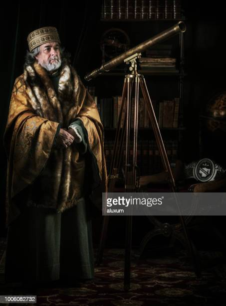 the astronomer - 17th century style stock photos and pictures