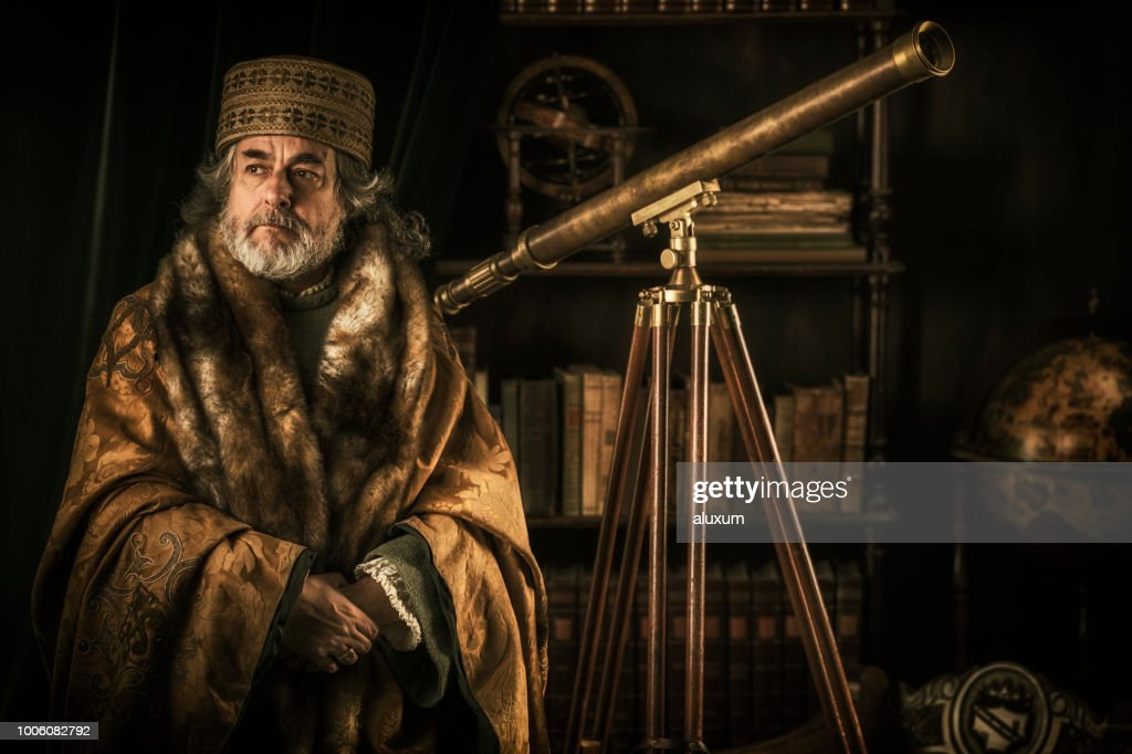 The Astronomer : Stock Photo