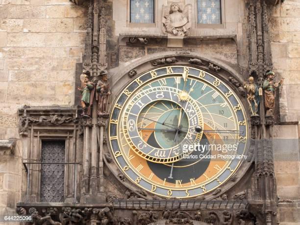 The Astronomical Clock of Prague, Czech Republic