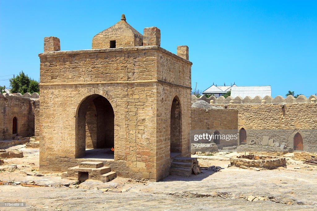 The Atashgah fire temple : Stock Photo