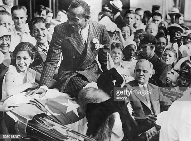 The Athlete and threetime Olympic winner Jesse Owens come back to his hometown of Cleveland The mayor of Cleveland Harold Burton 1th September 1936...