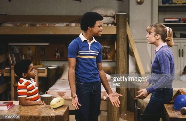 RENT STROKES The Athlete Episode 22 Pictured Gary Coleman as Arnold Jackson Todd Bridges as Willis Jackson Dana Plato as Kimberly Drummond Photo by...