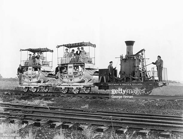 The 'Atlantic' locomotive was built by Phineas Davis at York Pennsylvania and went into operation on the Baltimore and Ohio Railroad in the summer of...