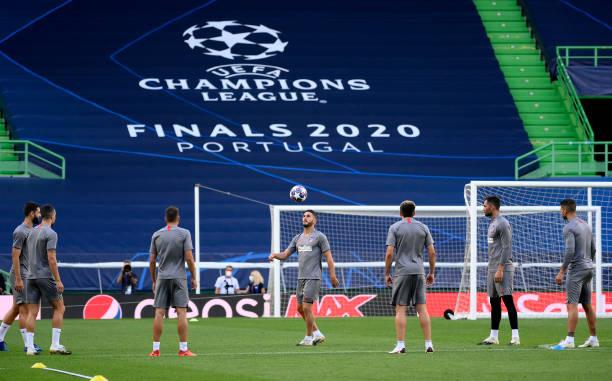 PRT: Atletico Madrid Training Session - UEFA Champions League