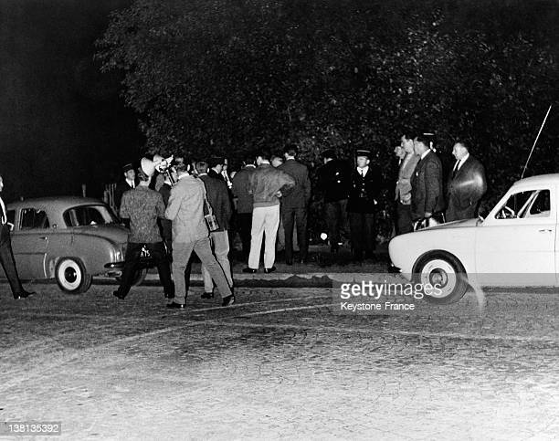 The atmosphere a few hours later in the street where the assassination attempt against President Charles de Gaulle took place on August 22 1962 in Le...
