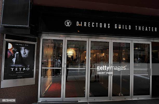 The atmosphere at the premiere of TETRO at the Directors Guild Theatre on June 7 2009 in New York City