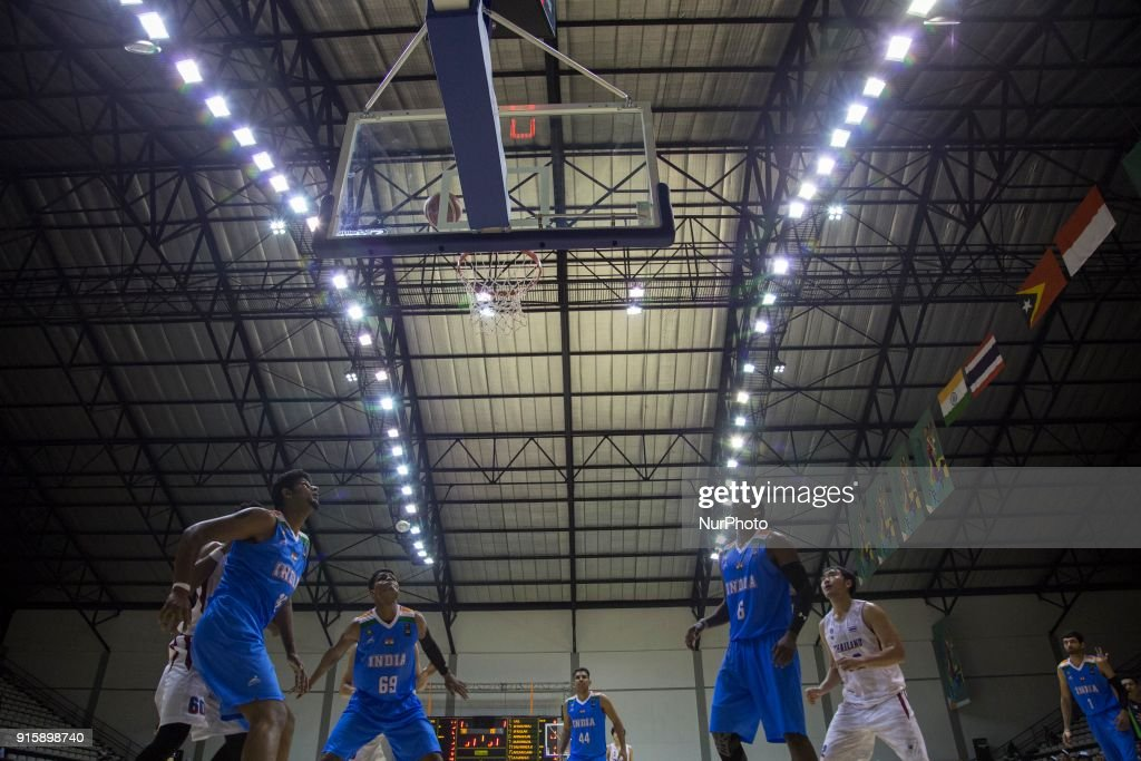 India v thailand test asian games 2018 basketball photos and the atmosphere of basketball qualifying match 18th asian games invitation tournament between india against thailand at stopboris Gallery