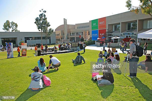 The atmosphere promoting Tourism Tazmania at Aussie Youth Day at Cal Poly Pomona is seen on January 16 2008 in Pomona California