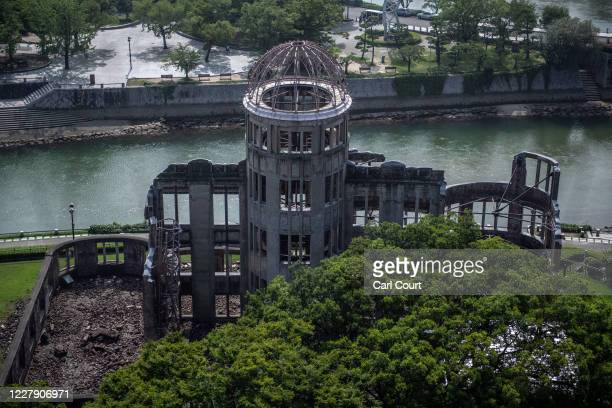 The Atomic Bomb Dome is pictured on August 4 2020 in Hiroshima Japan This Thursday will mark the 75th anniversary of the atomic bombing of Hiroshima...