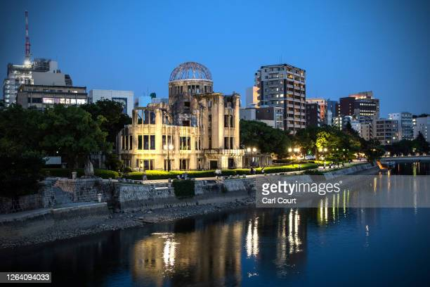The Atomic Bomb Dome is pictured on August 5 2020 in Hiroshima Japan This Thursday will mark the 75th anniversary of the atomic bombing of Hiroshima...