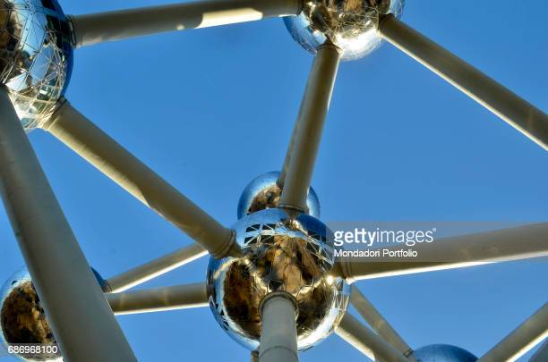 The Atomium in Brussels Brussels Belgium 4th December 2016