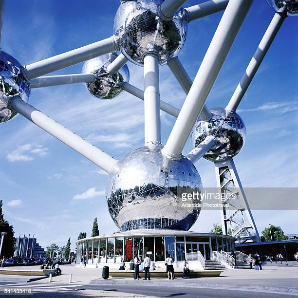 The Atomium in Parc des Expositions in Brussels