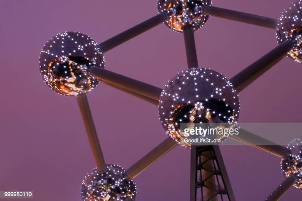 the atomium - brussels capital region stock pictures, royalty-free photos & images