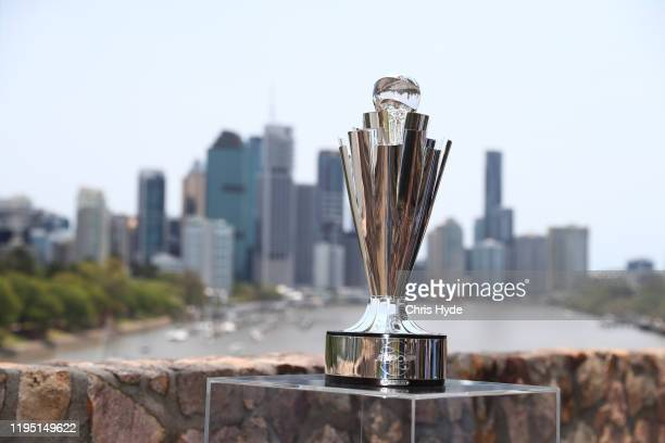 The ATP Cup media opportunity at Kangaroo Point on December 21 2019 in Brisbane Australia