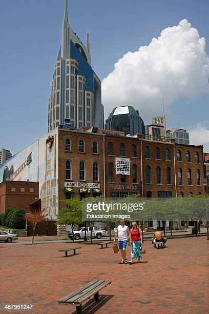 The AtT Building Downtown Nashville Tennessee USA