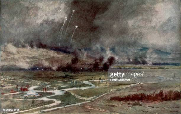 'The attack on the German positions north of the Aisne 16th April 1917' Known as the Nivelle Offensive after Robert Nivelle the Commander in Chief of...