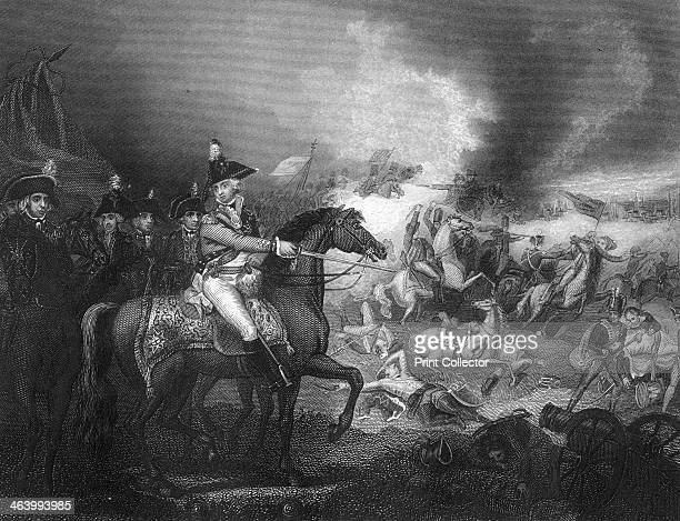 The attack upon the French camp on the hills of Famars near Valenciennes 23 May 1793 A scene from the Battle of Famars during the Flanders campaign...