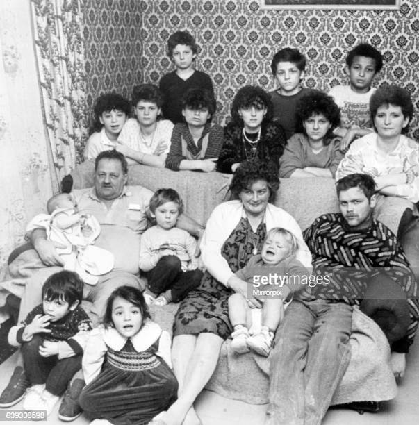 The Attard Family 3rd February 1987 The family of 17 7 adults and 10 children live together in a four bedroom council house on the Trowbridge Estate...