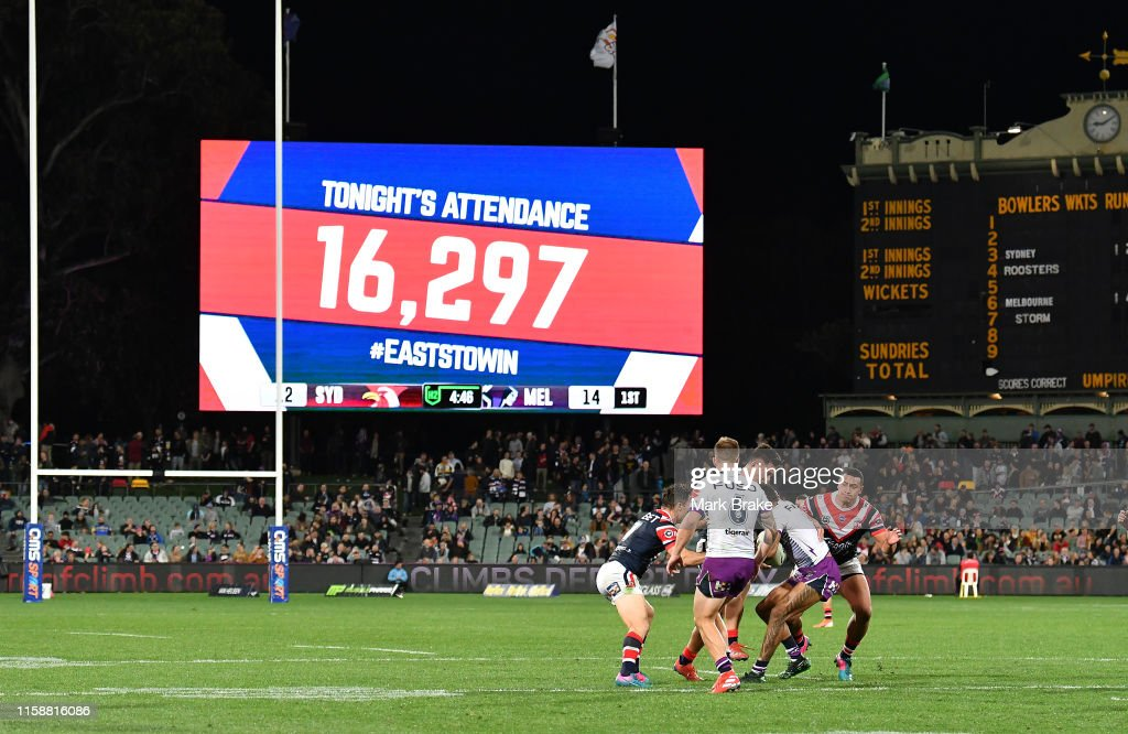 NRL Rd 15 - Roosters v Storm : News Photo
