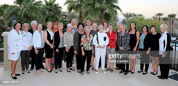 The attending past champions Amy Alcott Judy Rankin Kathy Whitworth Stacy Lewis Annika Sorenstam Donna CaponiByrnes Karrie Webb Patty Sheehan...