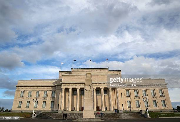 The Auckland Museum and War Memorial are seen during the FIFA U-20 World Cup on June 1, 2015 in Auckland, New Zealand.