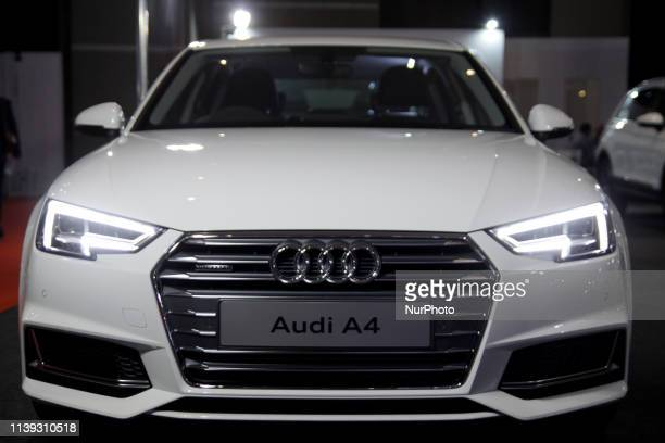 The Audi A4 has shown in the opening of the Indonesia International Motor Show 2019 at Jakarta International Expo Jakarta on April 25 2019 The...