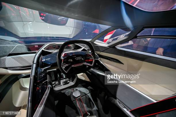 The Audi AI:RACE is seen at the Audi press conference at the IAA Frankfurt Motor Show on September 10, 2019 in Frankfurt am Main, Germany.