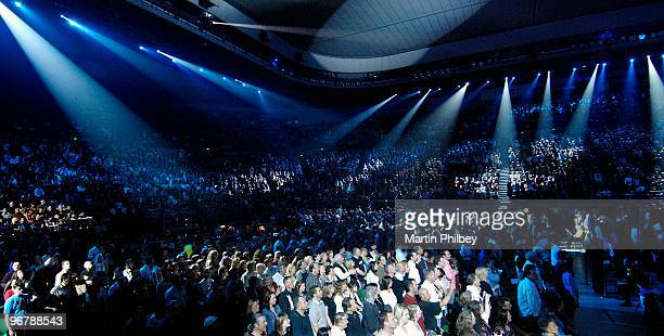 The audience at at Countdown Spectacular 2 at the Rod Laver Arena on 30th August 2007 in Melbourne Australia