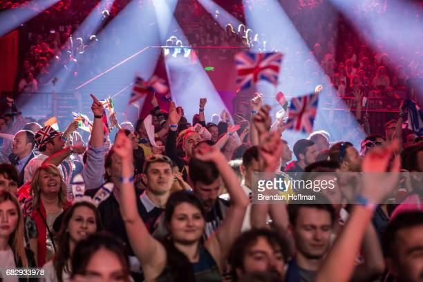 The audience at the Eurovision Grand Final on May 13 2017 in Kiev Ukraine Ukraine is the 62nd host of the annual iteration of the international song...