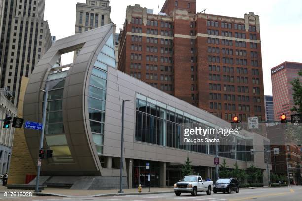 the august wilson center for african american culture center and museum - performing arts center stock photos and pictures