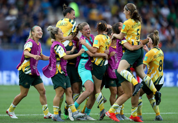 FRA: Australia v Brazil: Group C - 2019 FIFA Women's World Cup France