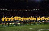 cardiff wales australia team line up