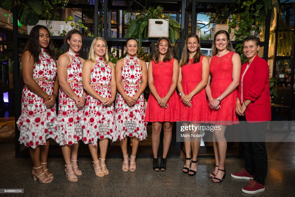 Official Dinner: Australia v Netherlands - Fed Cup World Group Play-off : News Photo