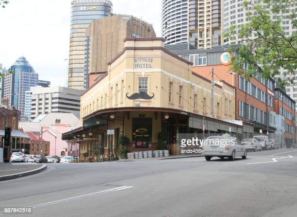the australian heritage hotel - social history stock pictures, royalty-free photos & images