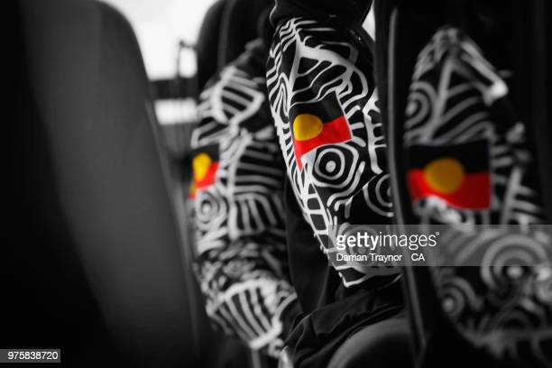 The Australian Indigenous Men's and Women's cricket team ride a coach as they travel through London to Lords on June 6 United Kingdom This year marks...