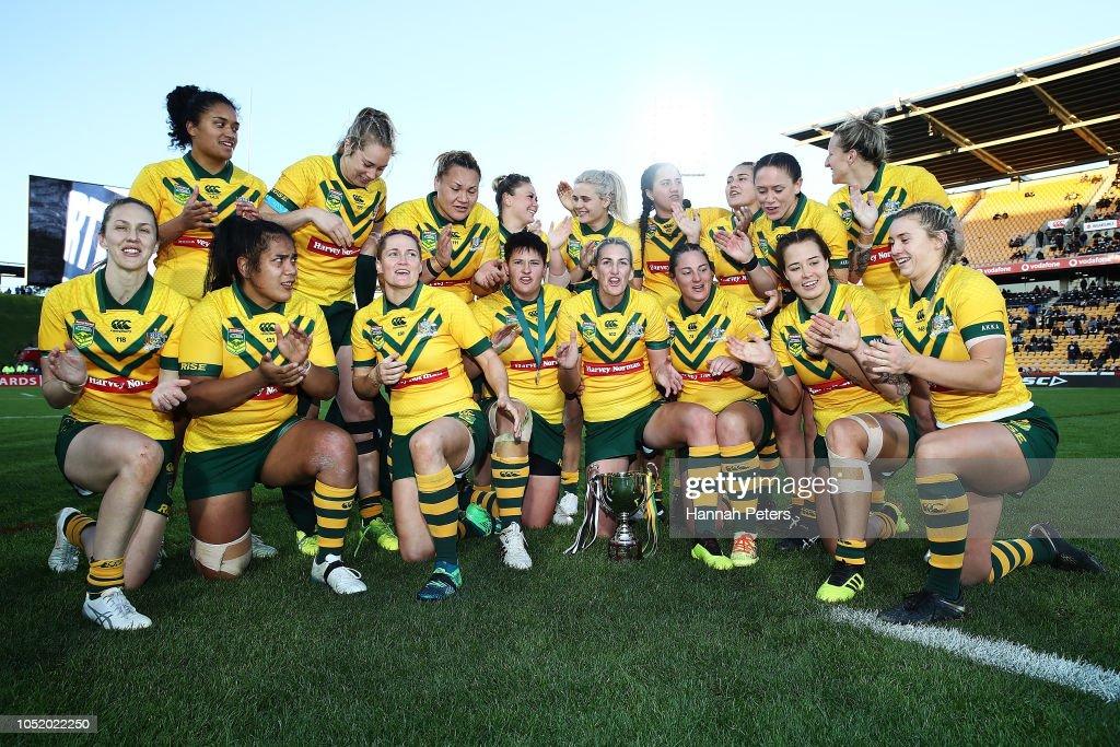 New Zealand Kiwi Ferns v Australian Jillaroos : News Photo