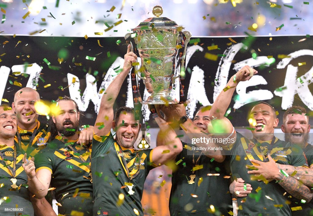 2017 Rugby League World Cup Final - Australia v England : Foto di attualità
