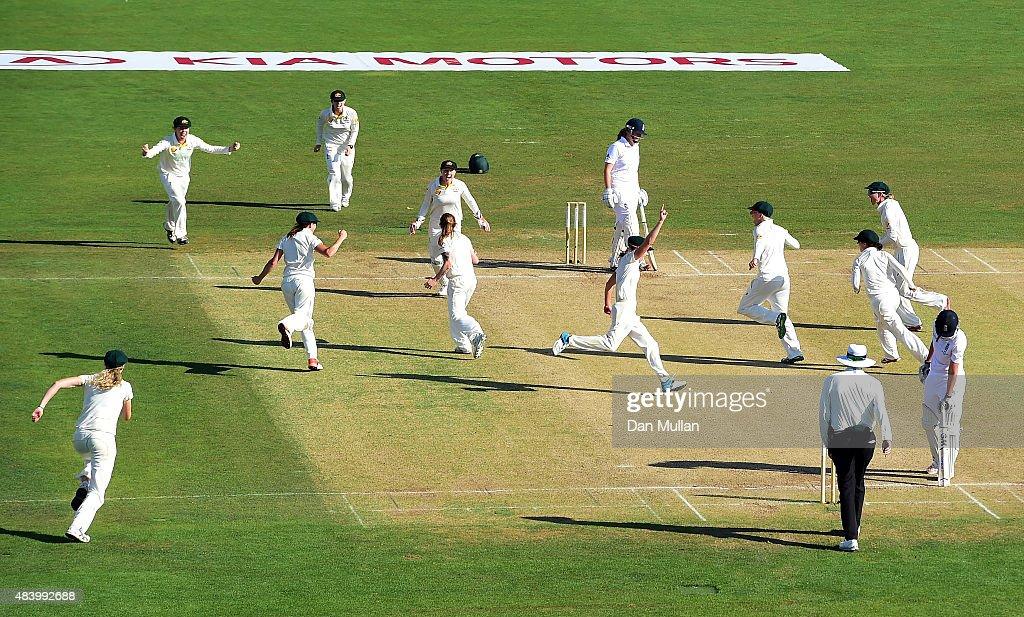 England Women v Australia Women: Women's Ashes Series - Kia Women's Test: Day Four