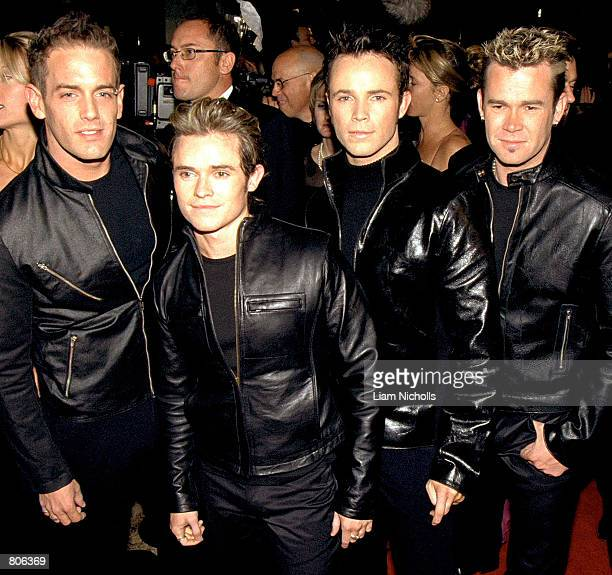 The Australian pop band Human Nature attends the TV Week Logie Awards April 22 2001 at the Crown Casino Entertainment Complex in Melbourne Australia
