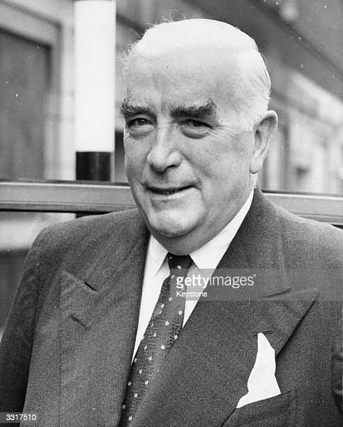 The Australian Prime Minister, Sir Robert Menzies during a visit to London.