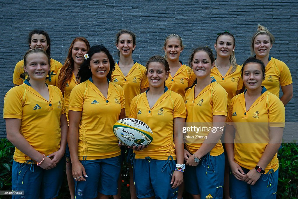 Photo Call For Australian Team Of 2014 Youth Olympic Games